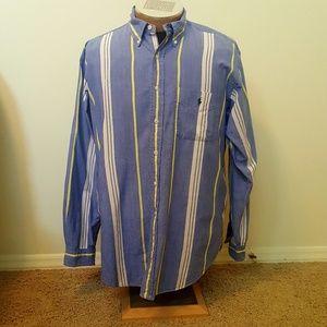 Striped Ralph Lauren Button-down Shirt